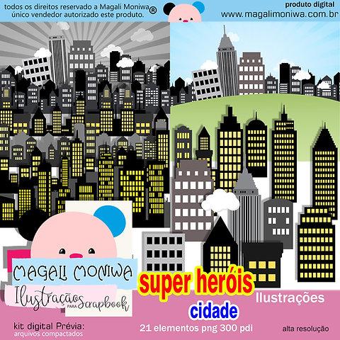 Herois Cidade Kit Digital Magali Moniwa