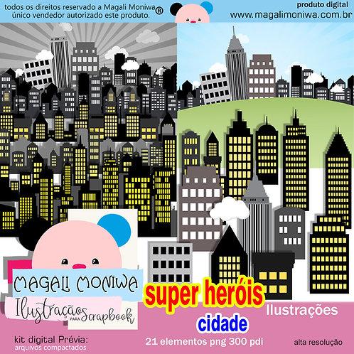 Herois cidade Kit digital
