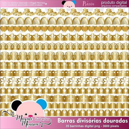 BARRAS DOURADAS kit digital