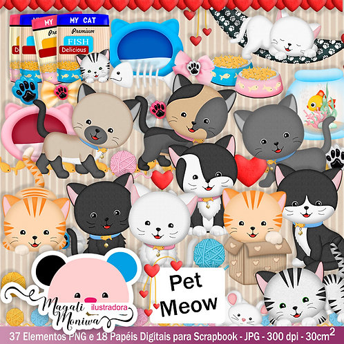 KIT DIGITAL PET MEOW