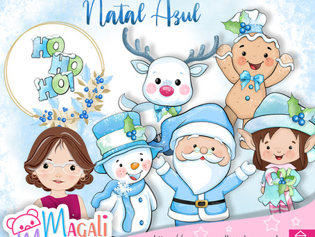 Que tal passa o Natal no Azul!!