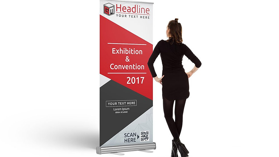 Retractable Banner w/ Carrying Case