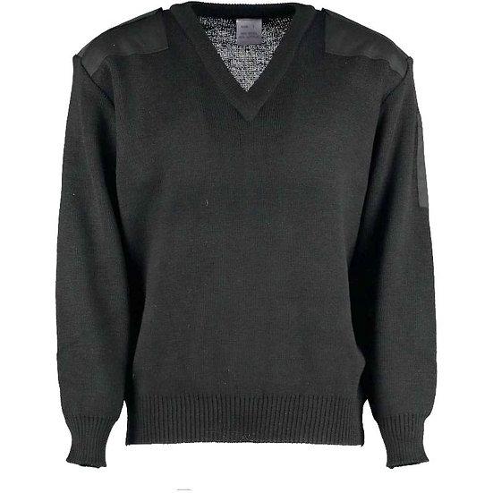 12346 - Medium-weight vee neck jumper