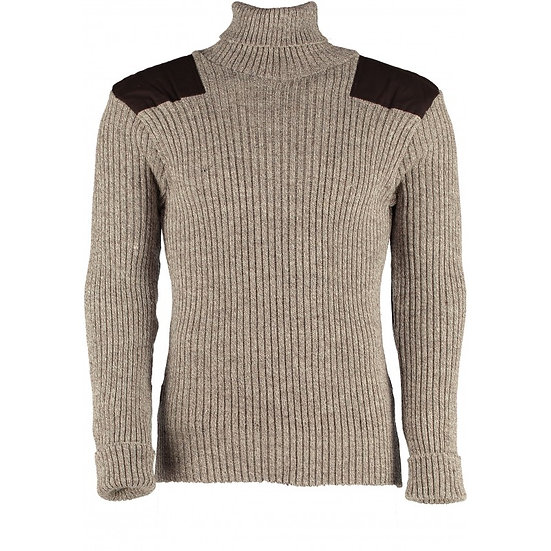 12999 -  Woolly Pully Roll Neck Sweater