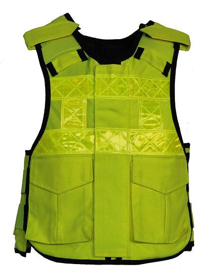 85072/90008 HI-VIS Zip fronted police style vest HG1/KR1/SP1
