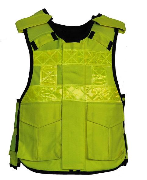 85072/90005 HI-VIS Zip fronted police style vest KR1/SP1