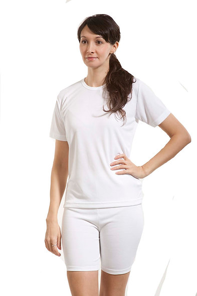 20249 - Crew Neck Short Sleeve Knitted Thermal Undershirt