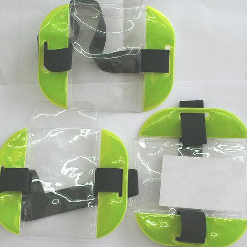 ID Card SIA Security Work Wear Armband Badge Holder  Waterproof Hi Vis