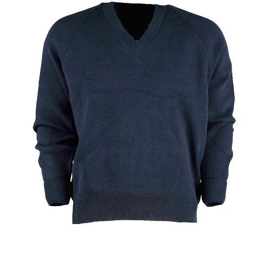 78021 Vee neck plain pullover