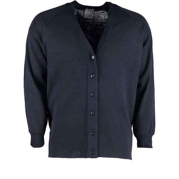 78128 - Lightweight plain knit cardigan