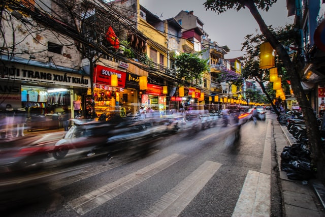 Hanoi, Vietnam @florianwehde on Unsplash