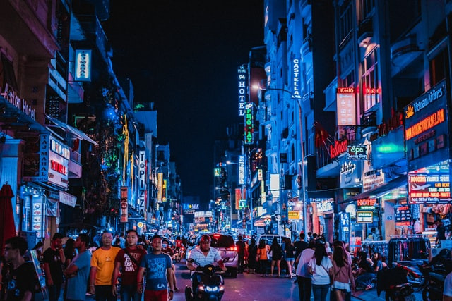 Ho Chi Minh City, Vietnam © @geodomou on Unsplash