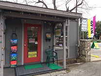 wilflower art gallery front door photo wimberley texas