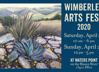 Postponed- Wimberley Arts Fest 2020