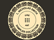 Sampler Collection portfolio logo for artist painter L. Nicholas Smith Fine Art