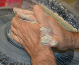 Potters Hands. Mike Anderson, Rockport, Texas
