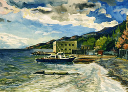 The City of Yalta. At a Mooring