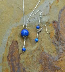 Feeling Blue Pendant Set