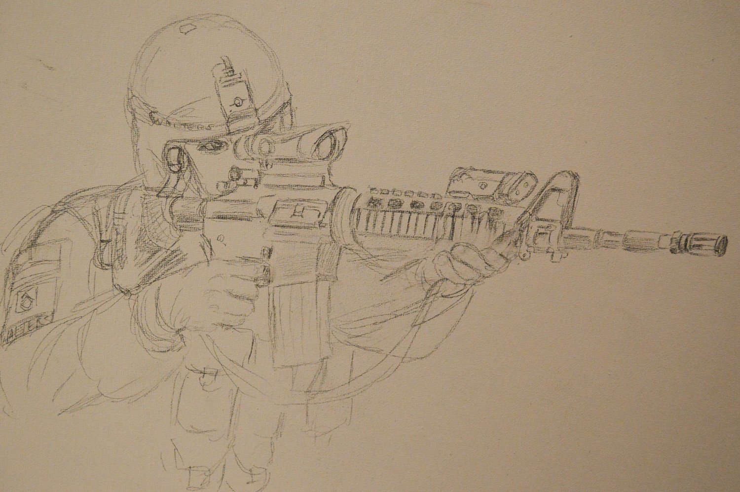 sketch for shooter 2