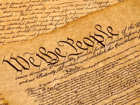 Art and our Constitution