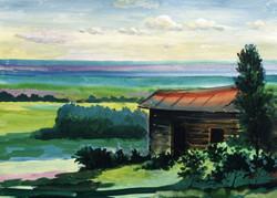 Old Barn on Bityug