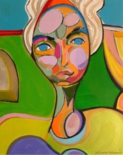Veronika, 50x 60cm, acrylic on canva