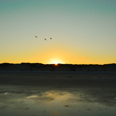 Sunset Over America