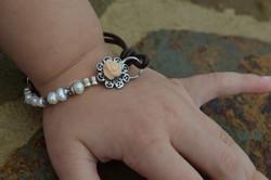 Rose & Pearl Toddler Bracelet
