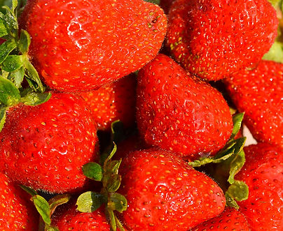 Photo of strawberries by Yvette Smith