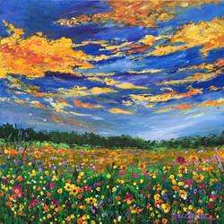 (c) Jacobson-ATX Wildflower Sunset