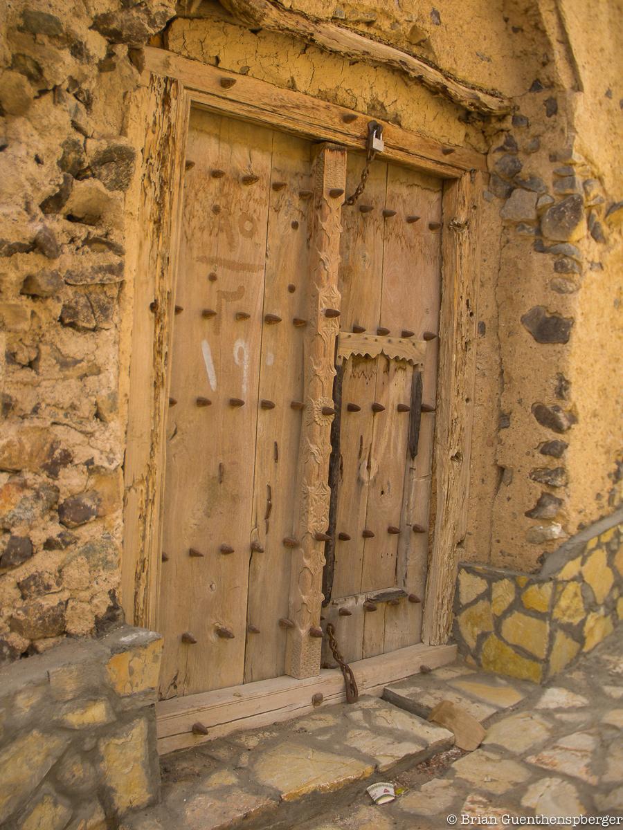 Door in Oman, sample 3