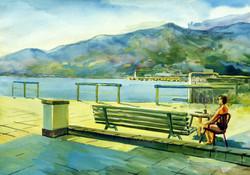 Alone. The City of Yalta