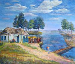 On the River Bityug