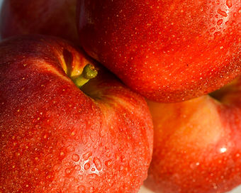Photo of red apples by Yvette Smith