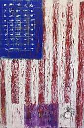 American flag by Nick Watson for Gary Sinese Foundation