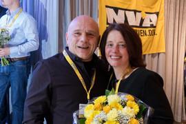 Met collega Lieven De Smet