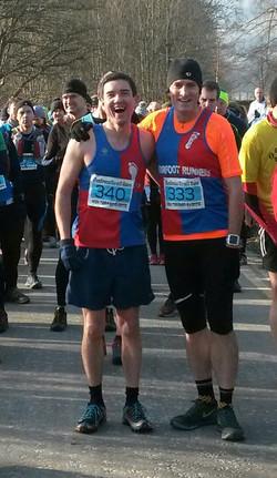 Glentress 15K mike and Scott