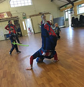 Superhero children's entertainer Snap Parties Sussex, London, Surrey
