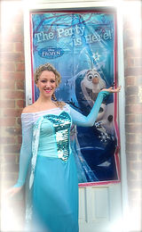 Elsa Princess children's entertainer sussex london surrey Snap Parties