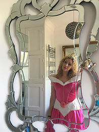 Sleeping Beauty Princess entertainer Sussex Surrey London Snap Parties
