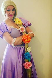 Rapunzel Princess entertainer Sussex Surrey London Snap Parties