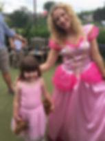 Princess children's entertainer sussex surrey london snap parties