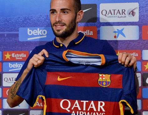 Aleix Vidal. Nuevo Jugador del FC Barcelona