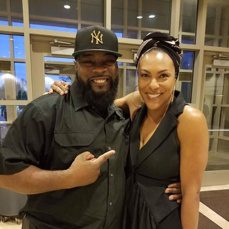 Myself with Tyler Perry Actress from T.V