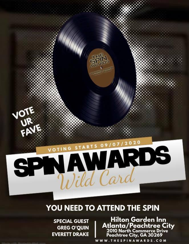 Spin Awards WILD CARD 2020