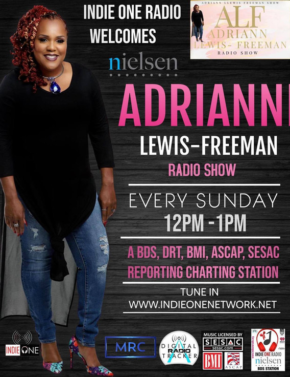 ADRIANNE SHOW ON INDIE ONE RADIO.jpg
