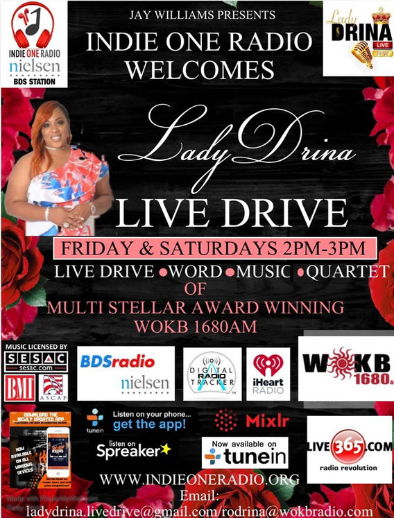 LADY DRINA ON INDIE ONE RADIO 2020.jpg