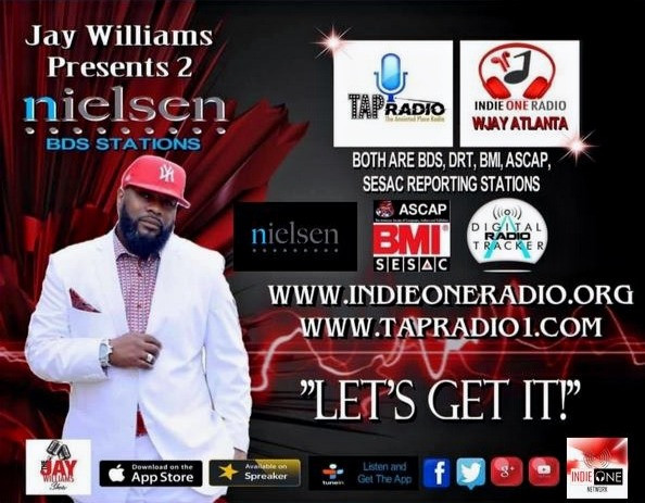 JAYWILL TAP Radio & Indie One Radio