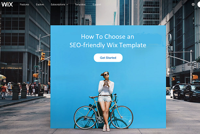How To Choose an SEO-friendly Wix Website Template