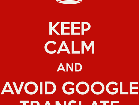What happens when you use Google Translate to localize your website to Japanese?